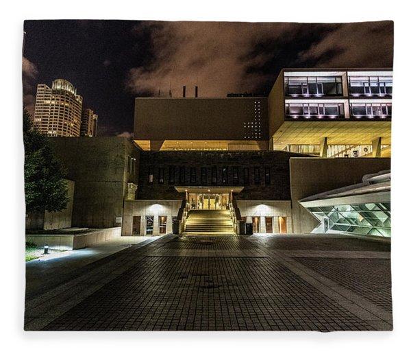Milwaukee County War Memorial Fleece Blanket