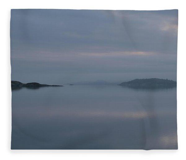Misty Day Fleece Blanket