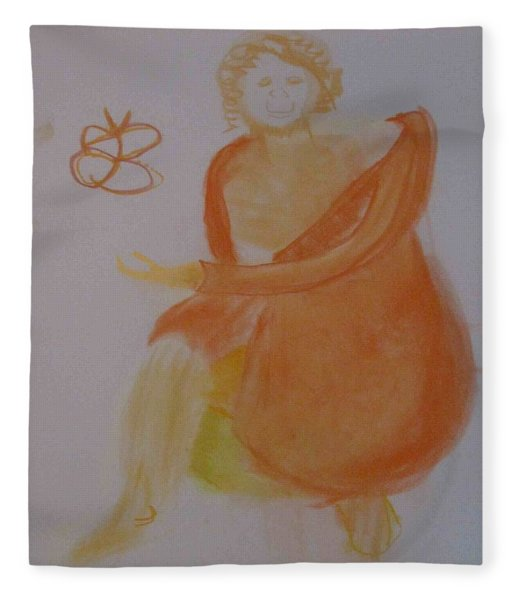 model named Helene three Fleece Blanket