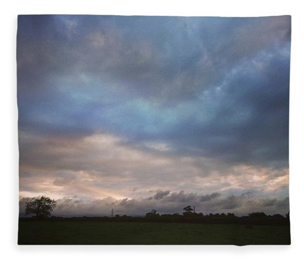 Morning Clouds Fleece Blanket