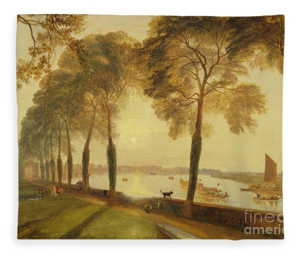 Mortlake Terrace, 1827 Fleece Blanket