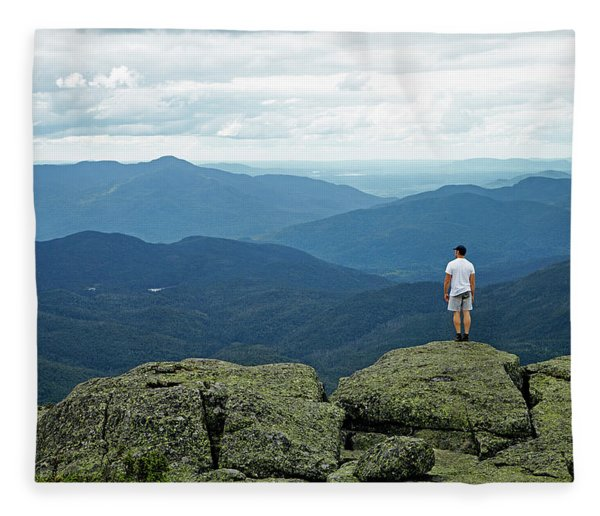 Mountain Top Fleece Blanket