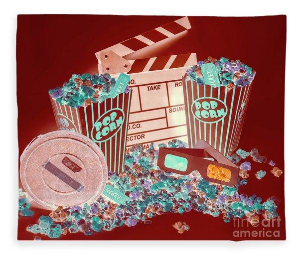 Movie Makers Inc. Fleece Blanket