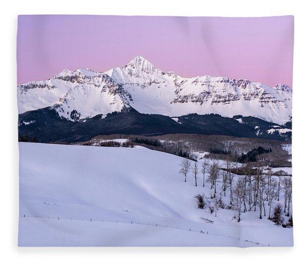 Mt Wilson Fleece Blanket