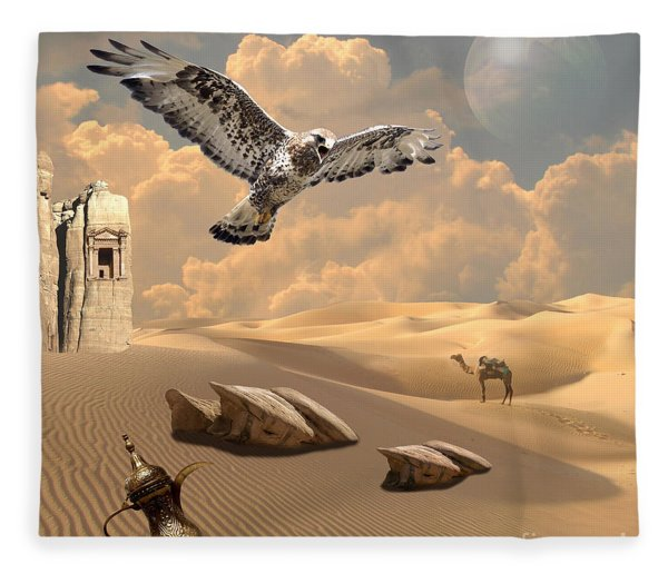 Mystica Of Desert Fleece Blanket