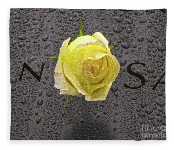 Never Forget 9/11 Fleece Blanket