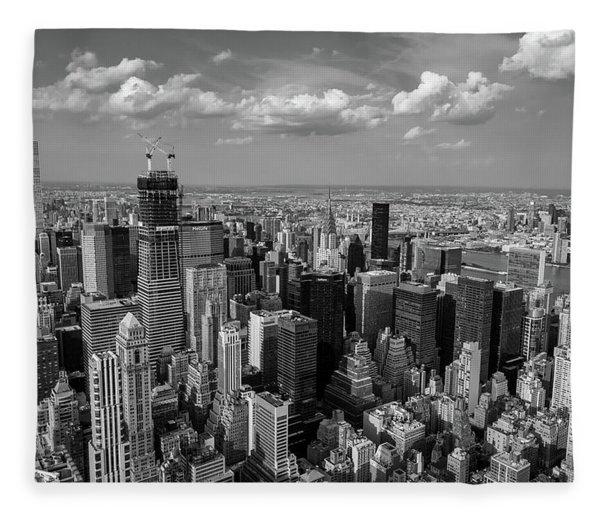 New York City Empire State Building Fleece Blanket