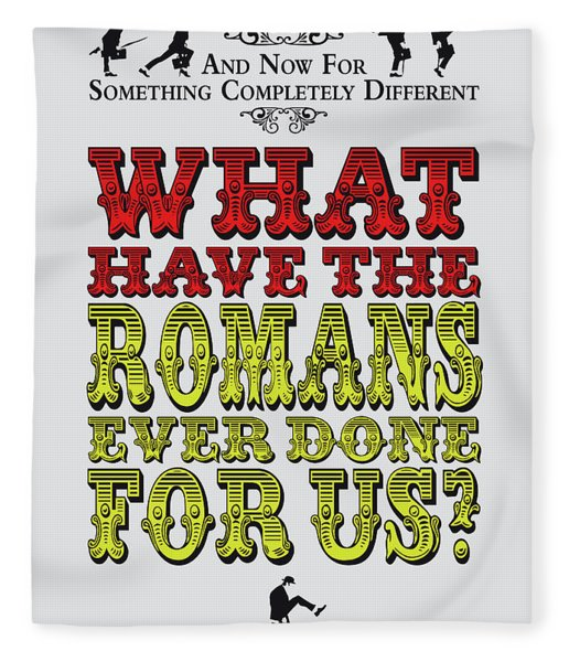 No04 My Silly Quote Poster Fleece Blanket