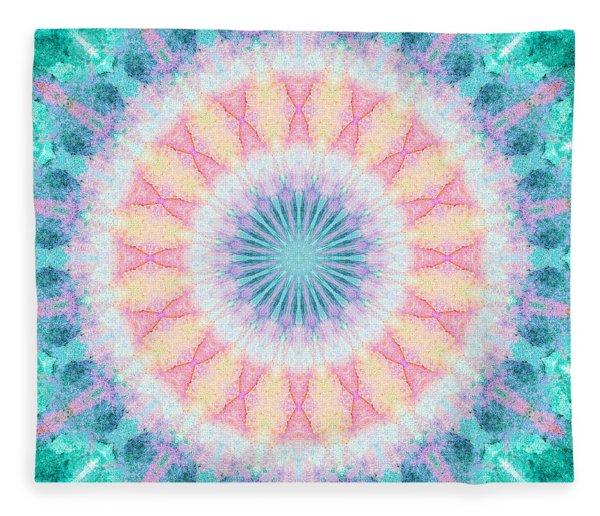 Ocean Deep Fleece Blanket