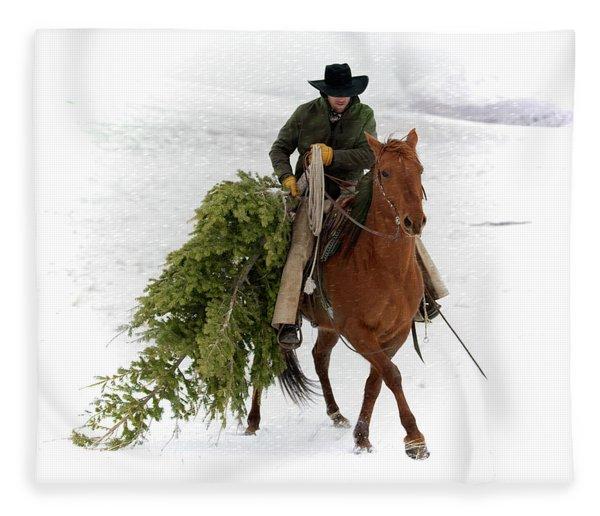 Oh, Christmas Tree Fleece Blanket