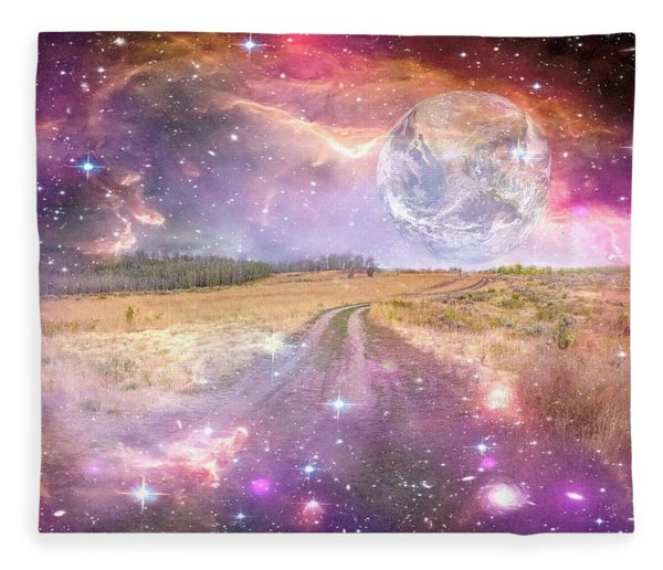 Our Place In The Universe Fleece Blanket