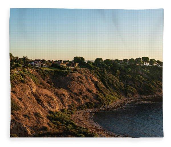 Palos Verdes Sundown Fleece Blanket
