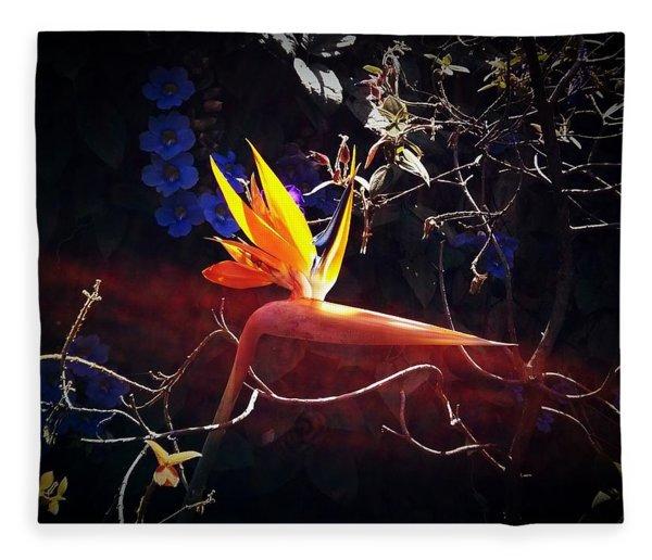 Paradise Gained Fleece Blanket