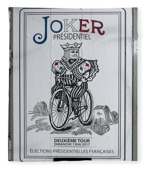 Paris Joker Fleece Blanket