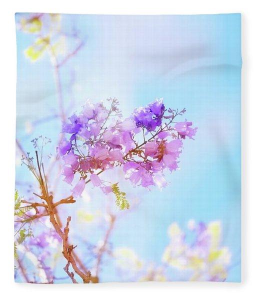 Pastels In The Sky Fleece Blanket