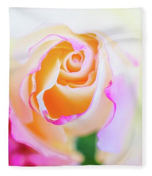 Pastels Fleece Blanket