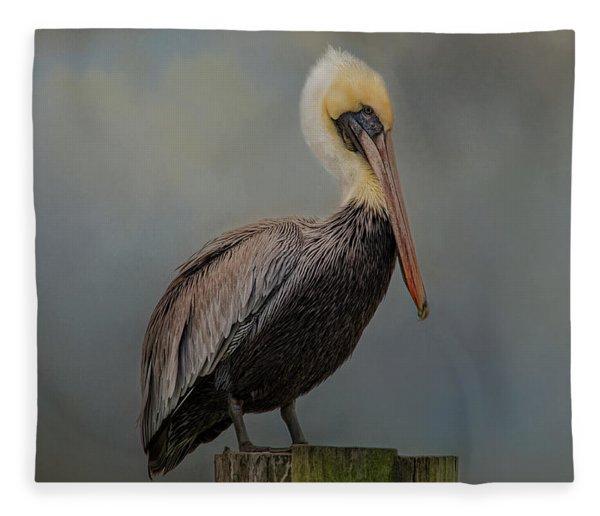 Pelican's Perch Fleece Blanket