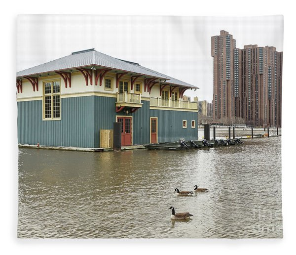 Peter Jay Sharp Boathouse Fleece Blanket