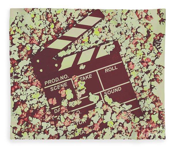 Popcorn Premiere  Fleece Blanket
