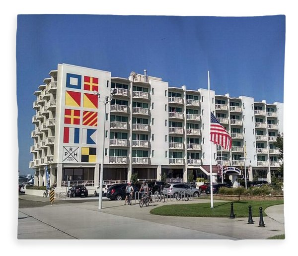 Port Royal Hotel Wildwood Nj 2019 Fleece Blanket