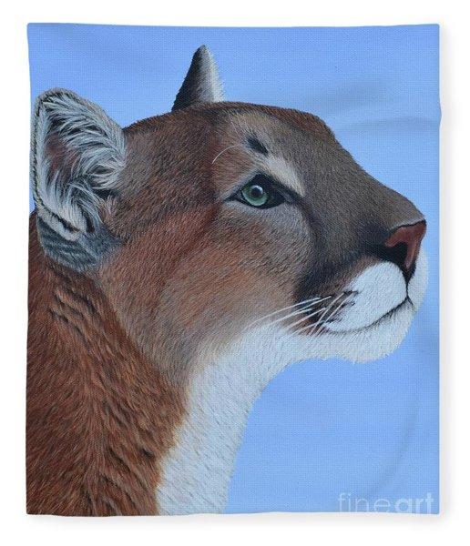 Puma Fleece Blanket