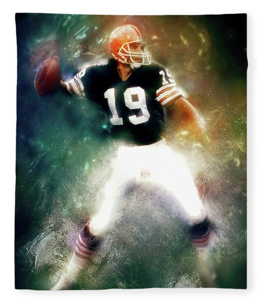 Quarterback Bernie Kosar Fleece Blanket