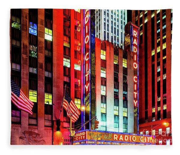 Radio City Music Hall Fleece Blanket