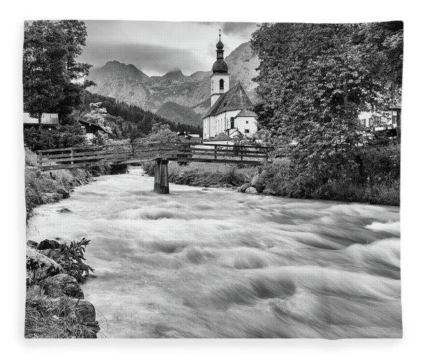 Ramsau, Bavaria Fleece Blanket