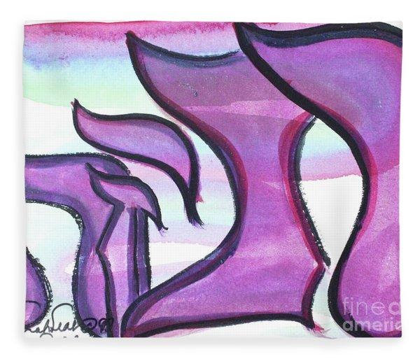 Rebeca Nf1-90 Fleece Blanket