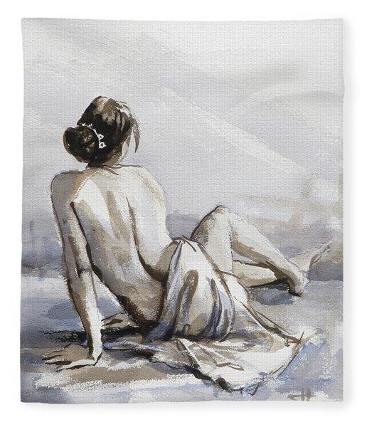 Relaxed Fleece Blanket