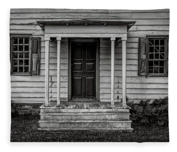 Rockingham Porch Fleece Blanket