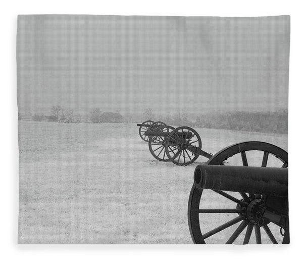 Row Of Cannon Fleece Blanket