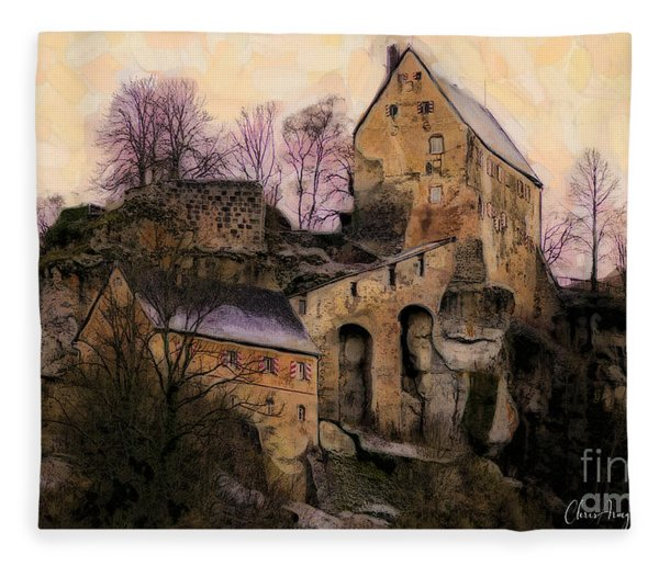Ruined Castle Fleece Blanket