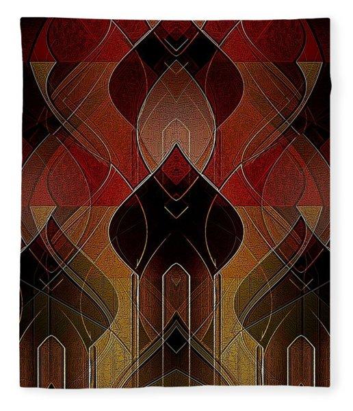 Russian Royalty Fleece Blanket