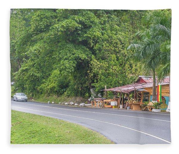 Saint Mary, Jamaica Fleece Blanket