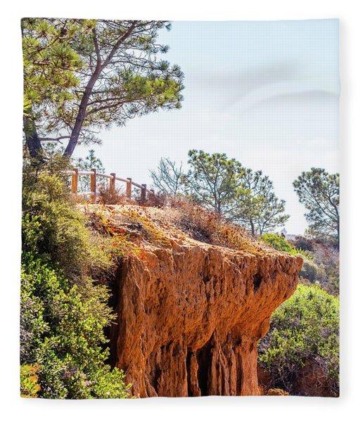 San Diego Landscape Fleece Blanket