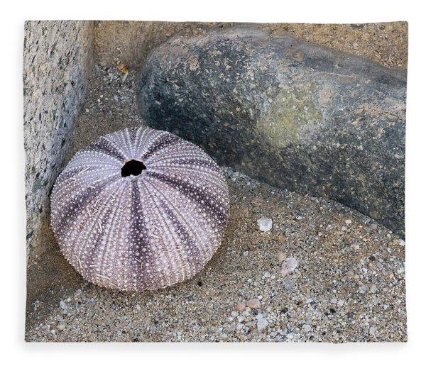 Sea Urchin Corner Fleece Blanket