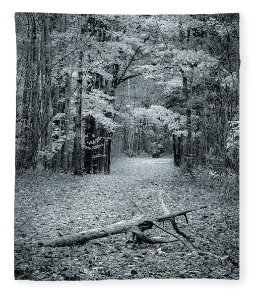 Selenium Trail  Fleece Blanket