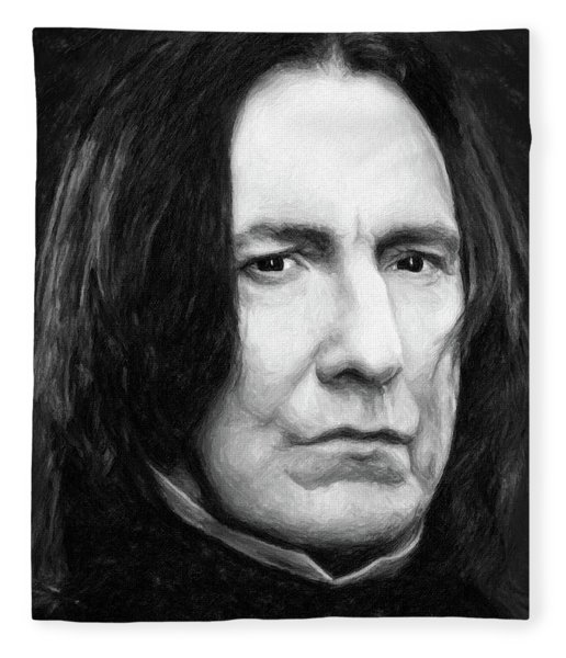 Severus Snape Fleece Blanket