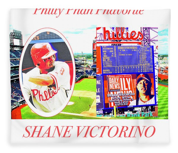 Shane Victorino, Philly Phan Phavorite Fleece Blanket