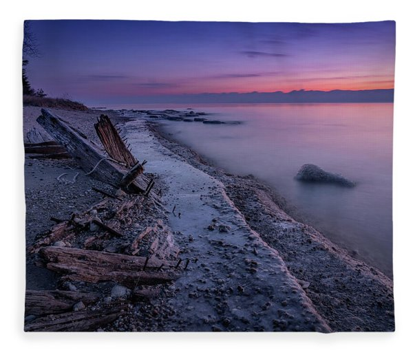 Shipwrecked Fleece Blanket