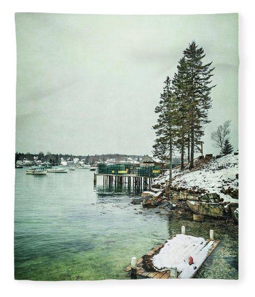 Silent Season Fleece Blanket