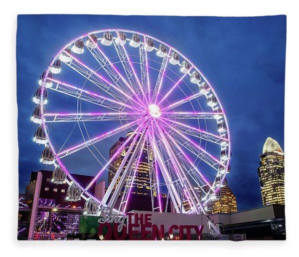 Skystar Ferris Wheel Fleece Blanket