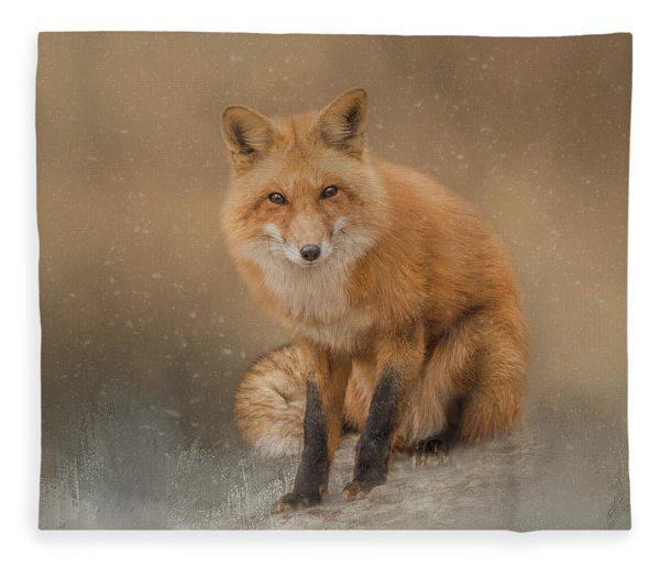 Snow Prince Fleece Blanket