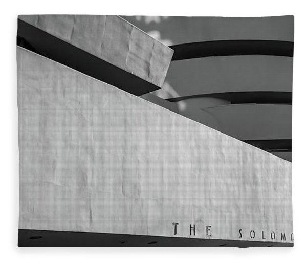 Solomon R Guggenheim Museum Fleece Blanket