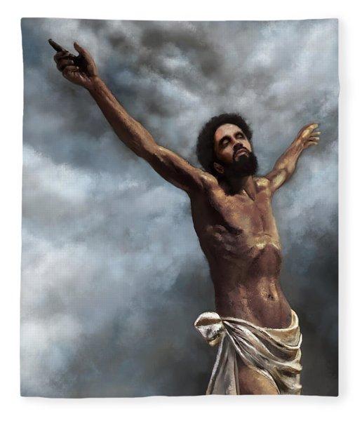 Son Of God Fleece Blanket