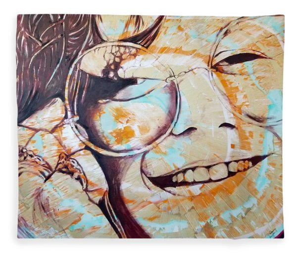 Soul Sister Fleece Blanket