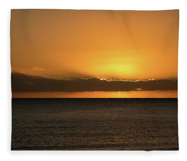 Southern Sunrise Fleece Blanket
