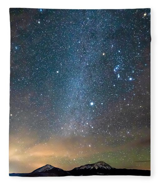 Spanish Peaks Fleece Blanket
