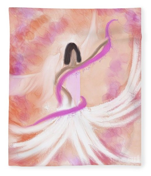 Spirit Dance Fleece Blanket